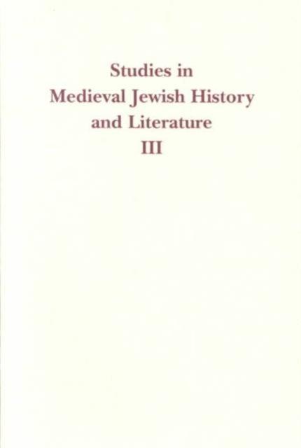 Studies in Medieval Jewish History & Literature V 3 globalistics and globalization studies big history