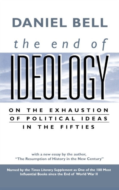 The End of Ideology – On the Exhaustion of Political Ideas in the Fifties on the cherubum – the sacrifices of abel