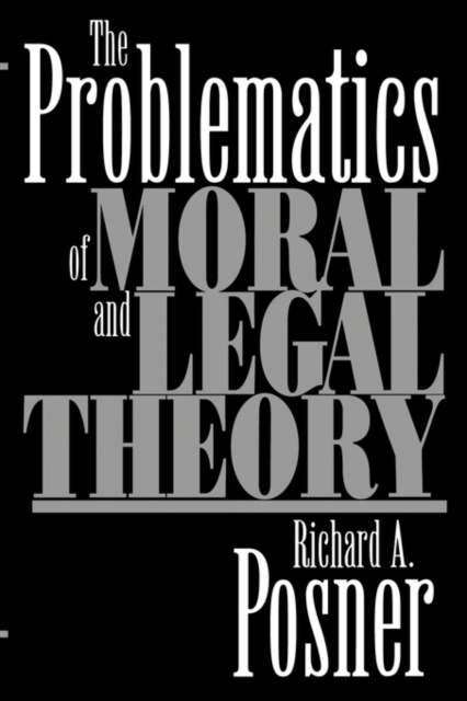 The Problematics of Moral & Legal Theory addison wiggin endless money the moral hazards of socialism