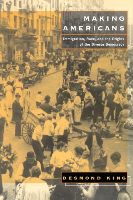 Making Americans – Immigration, Race & the Origins of the Diverse Democracy the politics of immigration