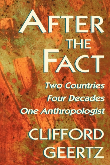 After the Fact – Two Countries, Four Decades, One Anthropologist (Paper) an anthropologist on mars