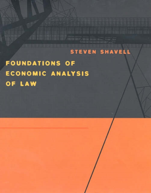 Foundations of Economic Analysis of Law foundations of anthropolinguistics