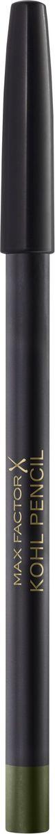 Max Factor Карандаш для глаз Kohl Pencil, тон №070 Olive, цвет: оливковый карандаш для глаз max factor kohl pencil цвет 060 ice blue variant hex name 387d9e вес 10 00