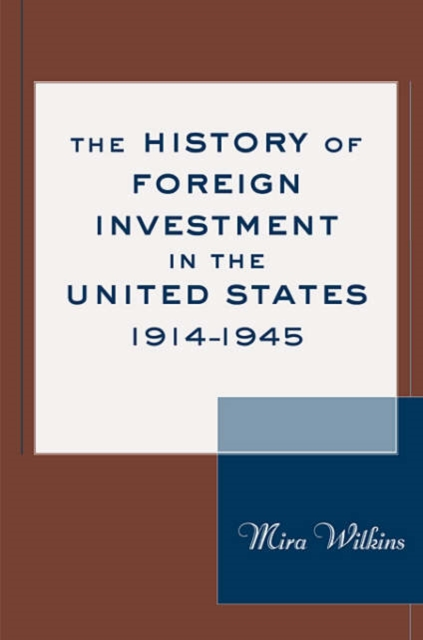 The History of Foreign Investments in the United States, 1914 – 1945 corporate debt market in the united states lesson for bangladesh