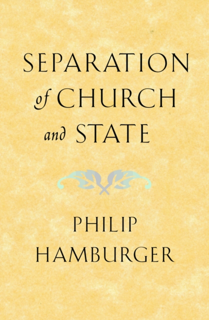 Separation of Church and State immunity of heads of state