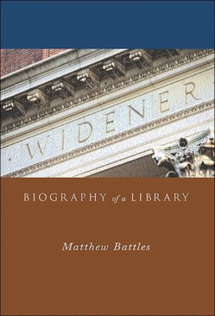 Widener – Biography of a Library riggs r miss peregrine 3 library of souls