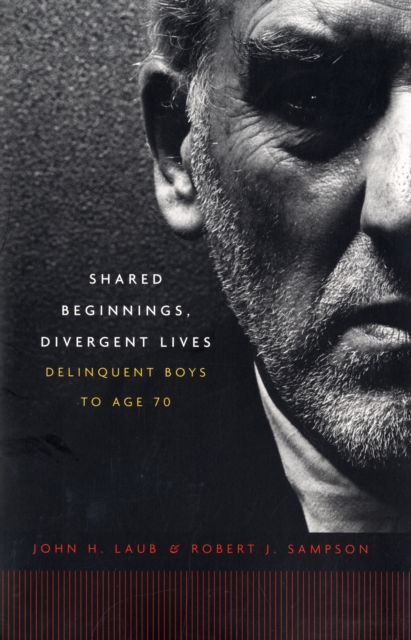Shared Beginnings, Divergent Lives – Delinquent Boys to Age 70 four a divergent collection