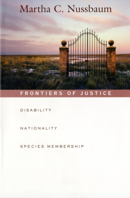 Frontiers of Justice – Disability, Nationality, Species Membership (OIP) diablo sword of justice