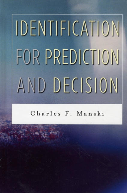Indentification for Prediction and Decision prediction