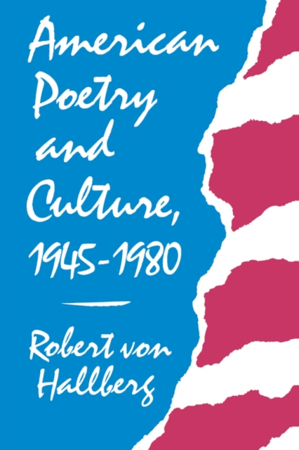 American Poetry & Culture (Paper) culture of professionalism paper