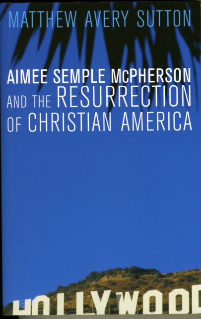 Aimee Semple McPherson and the Resurrection of Christian America carlos alberto palomino lazo and aimee r kanyankogote extraction of market expectations from option prices