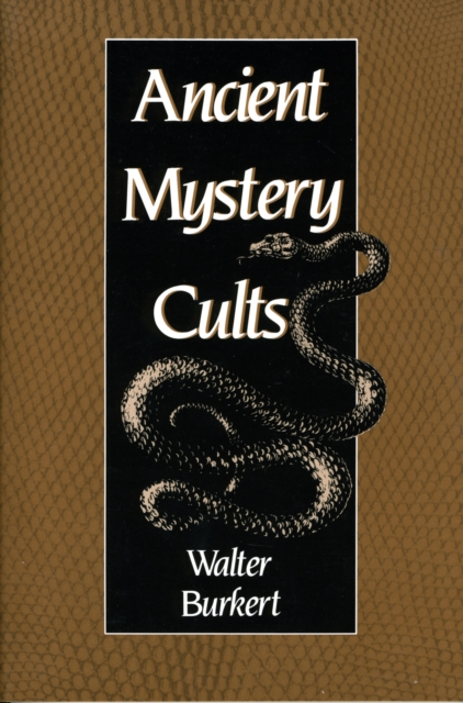 Ancient Mystery Cults (Paper) mystery mmtd 9108s