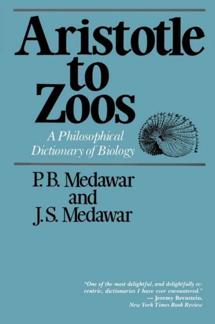 Aristotle to Zoos – A Philosophical Dictionary of Biology (Paper) pearce the mit dictionary of modern economics 1 ed paper