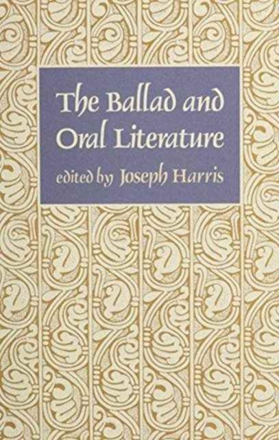 The Ballad & Oral Literature (Paper)