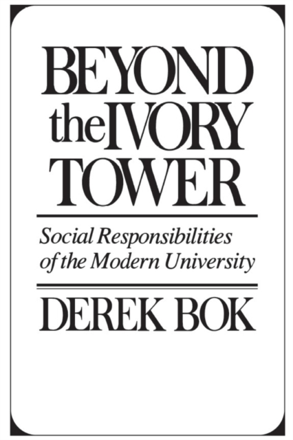 Beyond the Ivory Tower ? Social Responsibilities (Paper)