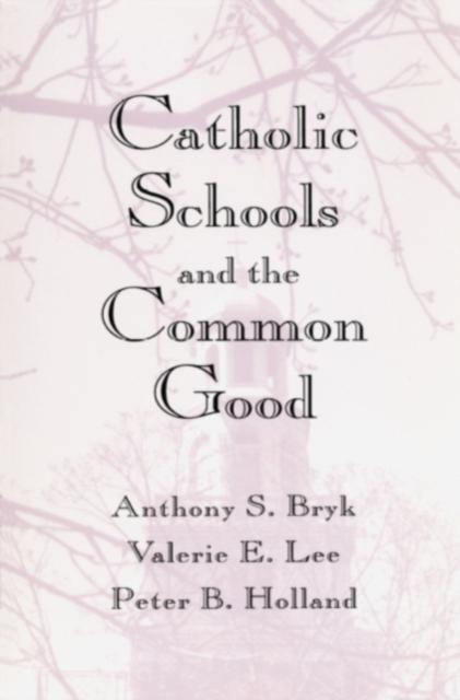 Catholic Schools & the Common Good (Paper) the contemporary catholic teacher