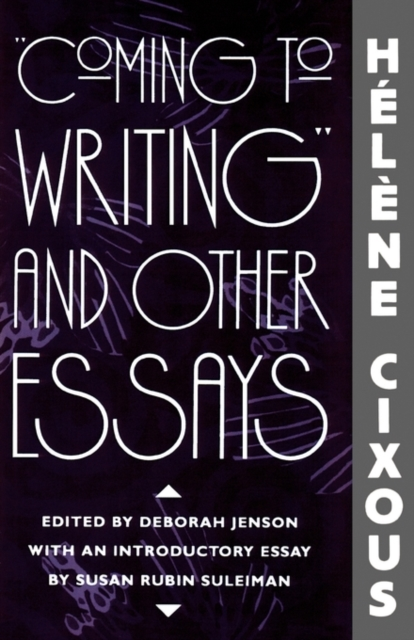 Coming To Writing & Other Essays (Paper)