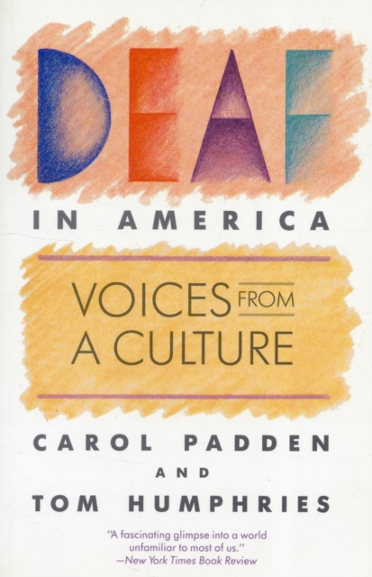 Deaf in America – Voices from a Culture (Paper) аксессуары in akustik cd great voices 0167501 1