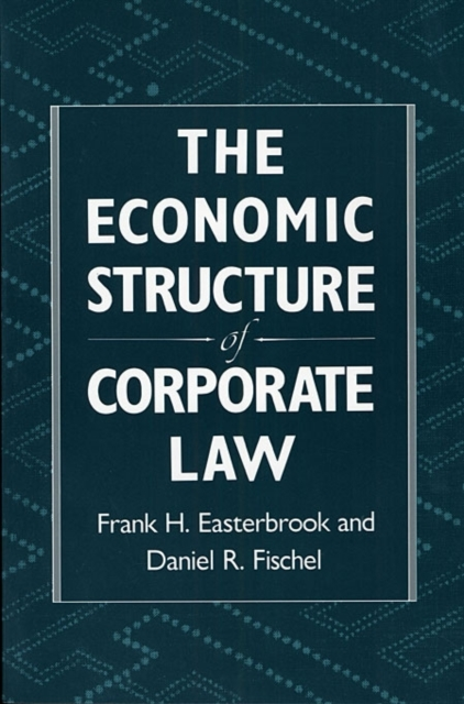 The Economic Structure of Corporate Law (Paper) neil fligstein the transformation of corporate control paper