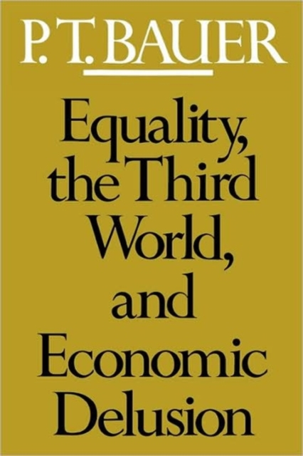 Equality the Third World & Economics Delusion (Paper) delusion pубашка