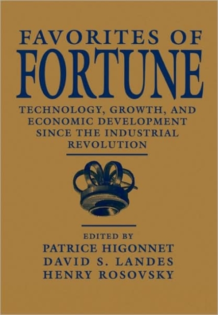 Favorites of Fortune – Technology, Growth, & Economic Development Since the Industrial Revolution (Paper) economic methodology