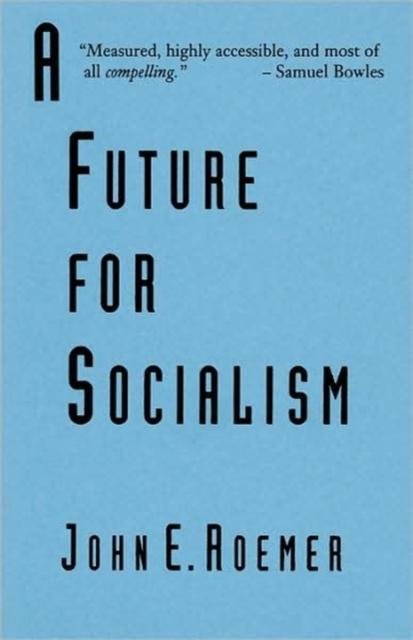 A Future for Socialism (Paper) (Cobe) time for future ti016ewsru28