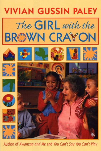 The Girl with the Brown Crayon (Paper) the girl on paper