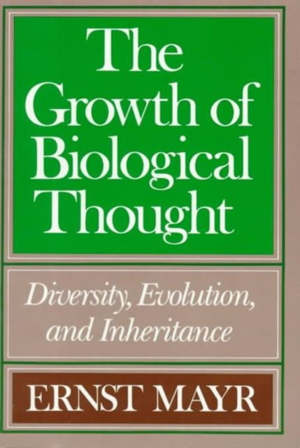 The Growth of Biological Thought – Diversity Evolution & Inheritance (Paper) activity recovery growth paper