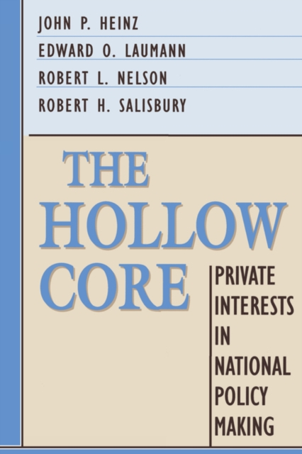 The Hollow Core – Private Interests in National Policy Making (Paper) nap national academy press engineering paper