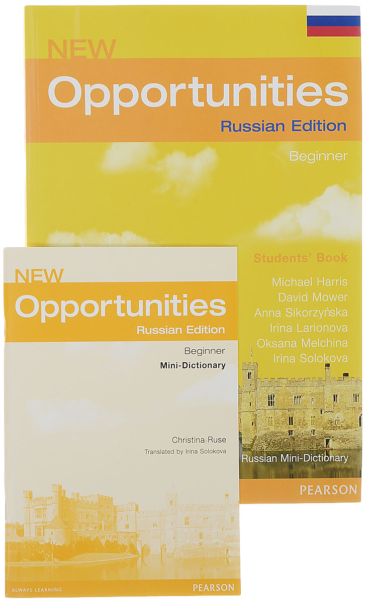 New Opportunities: Beginner: Students' Book with Russian Mini-Dictionary cobuild intermediate learner's dictionary