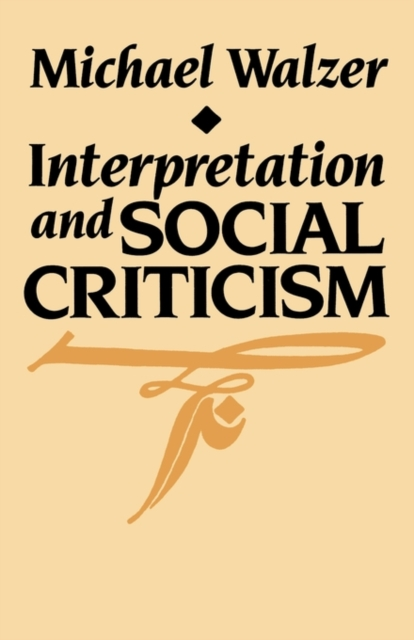 Interpretation & Social Criticism (Paper)