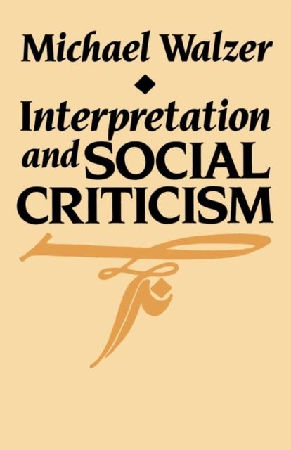 Interpretation & Social Criticism (Paper) punctuation interpretation chinese