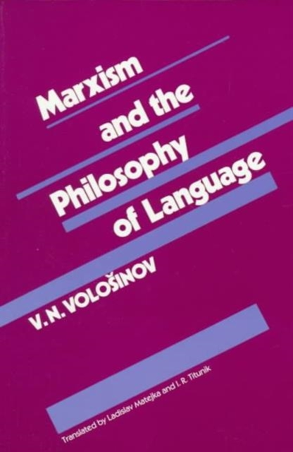 Marxism & the Philosophy of Language marxism and deconstruction