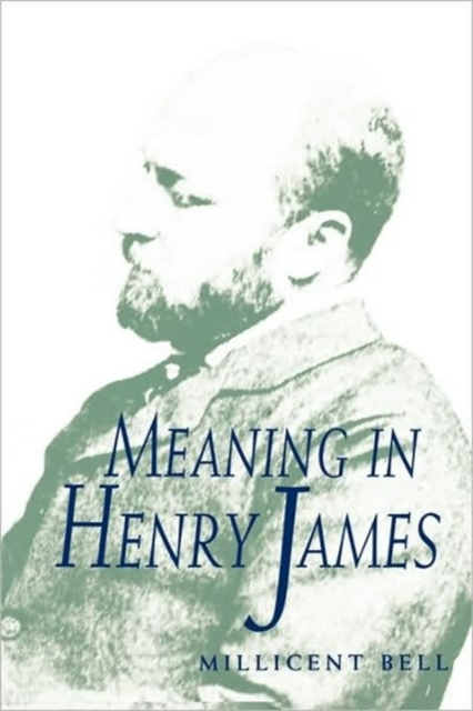 Meaning in Henry James (Paper) henry james travel writings 1