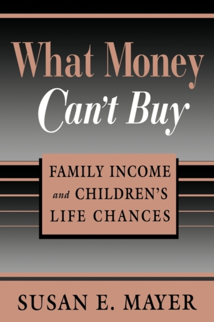 What Money Can?t Buy – Family Income & Children?s Life Chances (Paper) rushdie s midnights children