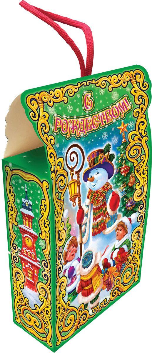 Сладкий новогодний подарок Сказочные узоры (Снеговик), 300 г1539Новогодние подарки в картонной упаковке считаются самыми популярными для поздравления детей в детских садах и школах, и с каждым годом остаются лидерами продаж. Сладкий Новогодний подарок  Сказочные узоры  300 гр. очарует любого малыша своей яркой,
