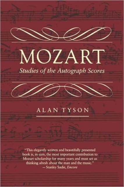 Mozart – Studies of the Autograph Scores (Paper) белье david gandy for autograph