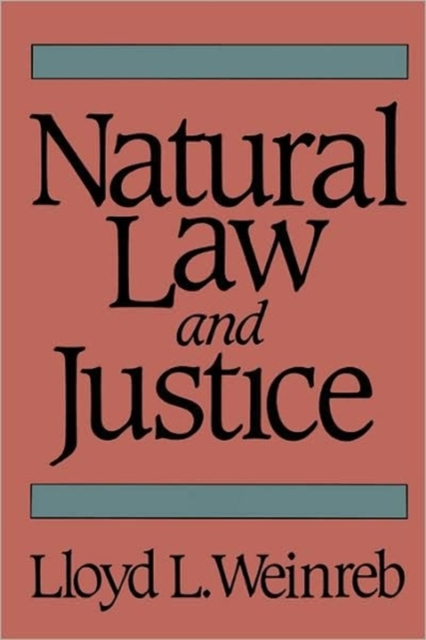 Natural Law & Justice (Paper) reconstructing american law paper