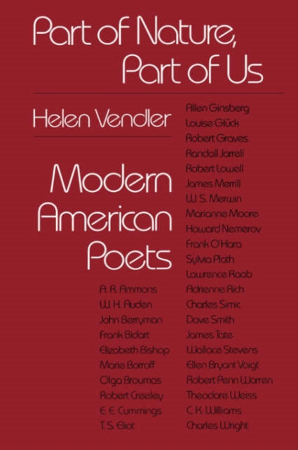 Part of Nature Part of Us – Modern American Poets (Paper) meredith clausen pietro belluschi – modern american architect paper