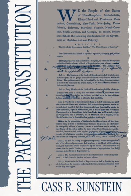 The Partial Constitution (Paper) the alabama state constitution