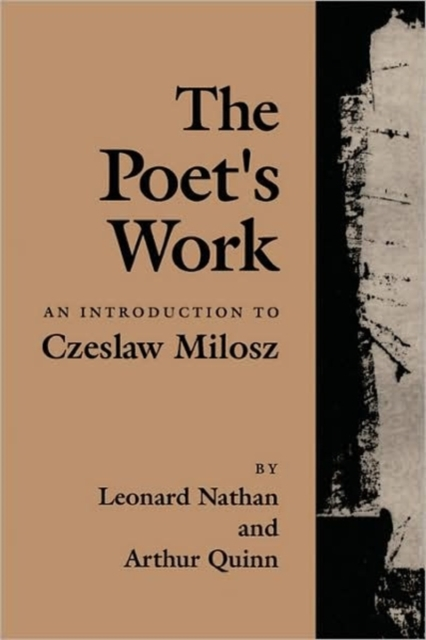 The Poet?s Work – An Introduction to Czeslaw Milosz (Paper) android ios app 433mhz sensor dual network gsm pstn sim call lcd smart dislay touch keypad home burglar security alarm