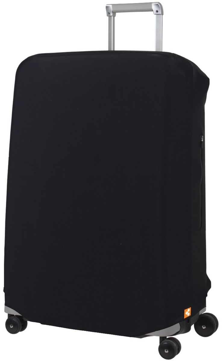 Чехол для чемодана Routemark Defender Pro, цвет: черный. Размер L (72-80 см)DefPRO-Bl-LЧехол Routemark Defender Pro предназначен для больших чемоданов, высотой от 72 до 80 см (мерить от пола). Чехол имеет 2 потайные молнии для боковых ручек с двух сторон. Внизу чехла - молния, дополнительная резинка с фастексом для лучшей усадки.