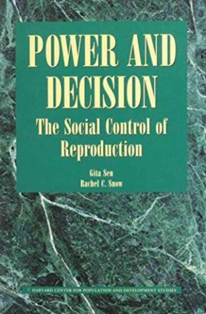 Power & Decision – The Social Control of Reproduction