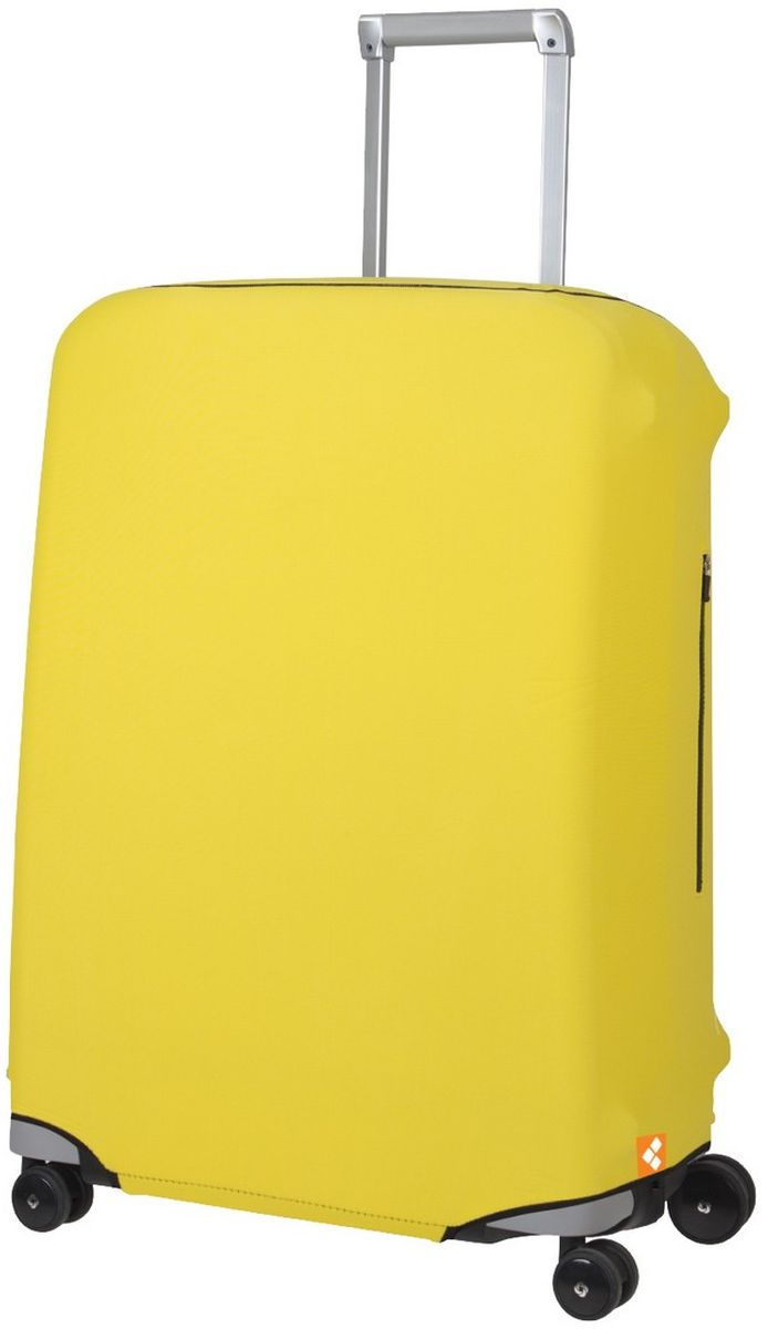 Чехол для чемодана Routemark Defender Pro, цвет: желтый. Размер M (65-71 см)DefPRO-Yel-MЧехол Routemark Defender Pro предназначен для чемоданов средних размеров, высотой от 65 до 71 см. (мерить от пола). Чехол имеет 2 потайные молнии для боковых ручек с двух сторон. Внизу чехла - молния, дополнительная резинка с фастексом для лучшей усадки.