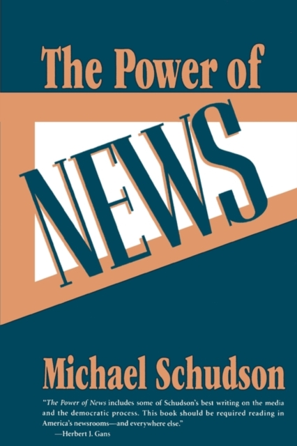 The Power of News (Paper) temporal processing of news