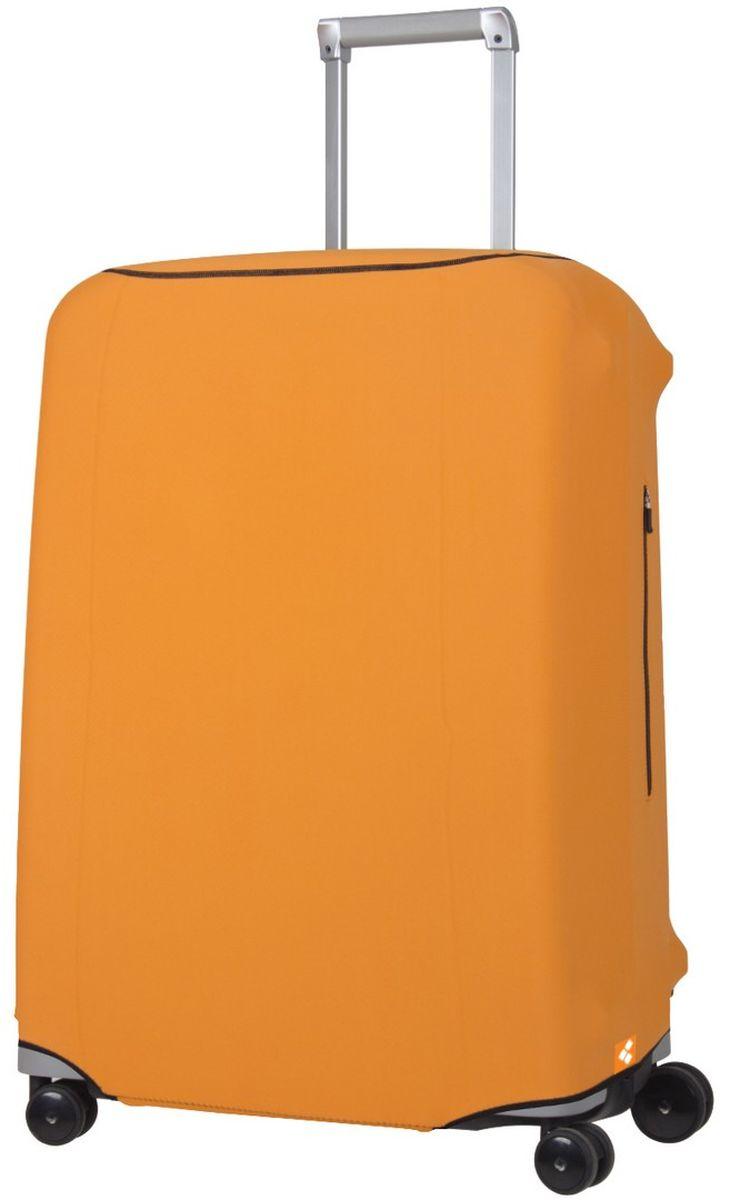 Чехол для чемодана Routemark Defender Pro, цвет: оранжевый, размер M (65-71 см)DefPRO-Or-MДля чемоданов средних размеров, высотой от 65 до 71 см. (мерить от пола). 2 потайные молнии для боковых ручек с двух сторон. Внизу чехла - молния, дополнительная резинка с фастексом для лучшей усадки.