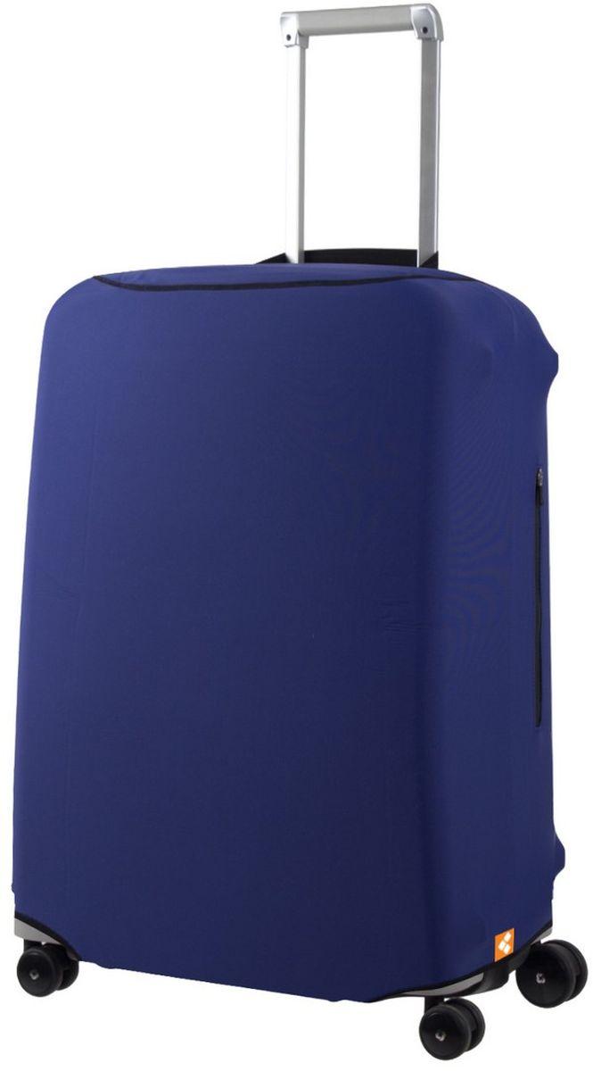 Чехол для чемодана Routemark Defender Pro, цвет: синий. Размер M (65-71 см)DefPRO-Blu-MЧехол Routemark Defender Pro предназначен для чемоданов средних размеров, высотой от 65 до 71 см. (мерить от пола). Чехол имеет 2 потайные молнии для боковых ручек с двух сторон. Внизу чехла - молния, дополнительная резинка с фастексом для лучшей усадки.