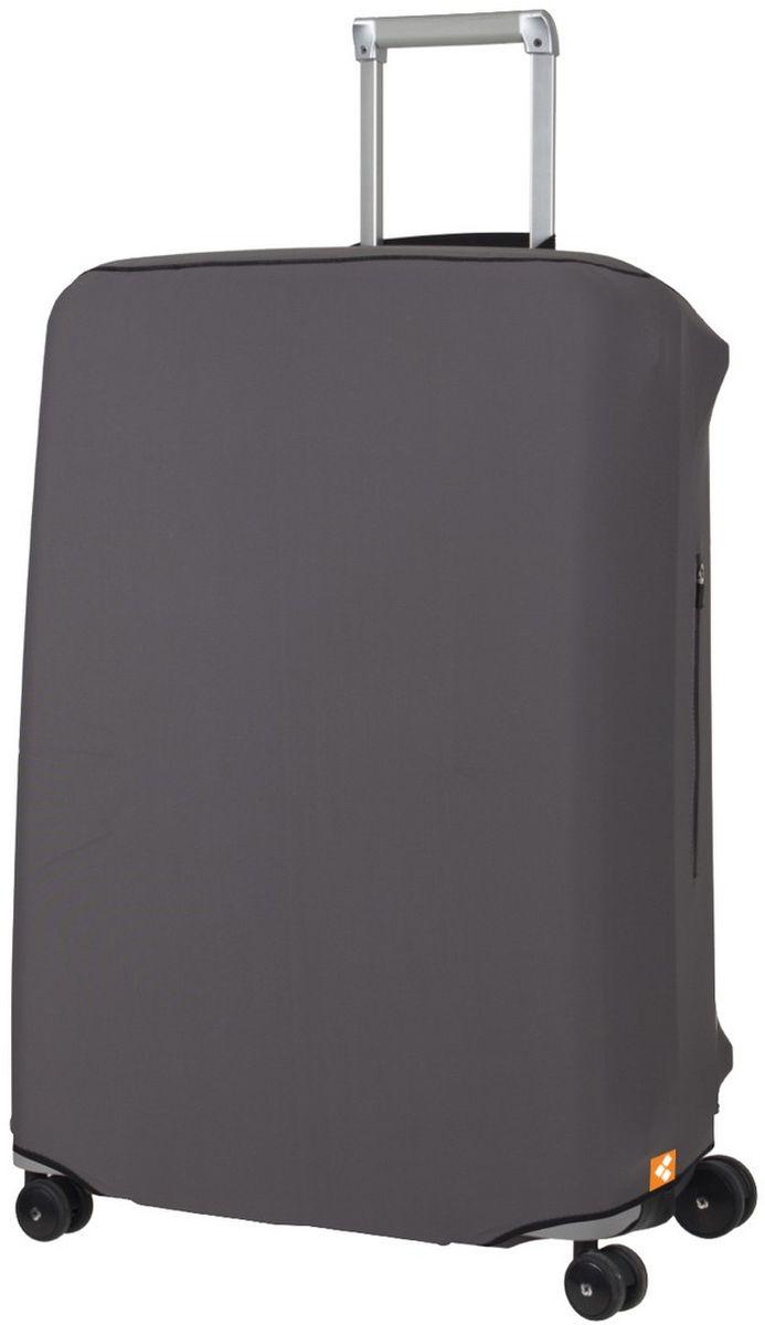 Чехол для чемодана Routemark Defender Pro, цвет: серый, размер L (72-80 см)DefPRO-Gr-LДля больших чемоданов, высотой от 72 до 80 см (мерить от пола)., 2 потайные молнии для боковых ручек с двух сторон. Внизу чехла - молния, дополнительная резинка с фастексом для лучшей усадки.