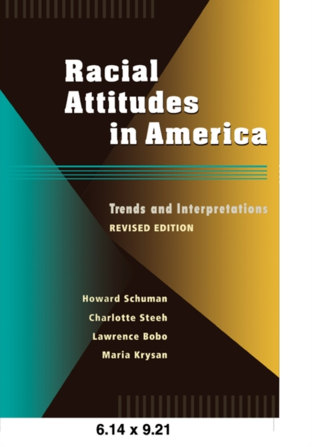 Racial Attitudes in America – Trends & Interpretations Rev Ed (Paper) black police in america paper