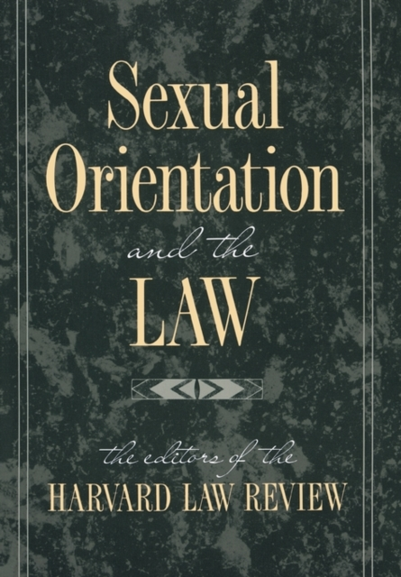 Sexual Orientation & the Law (Paper) black and white stripe pattern pullover shirt